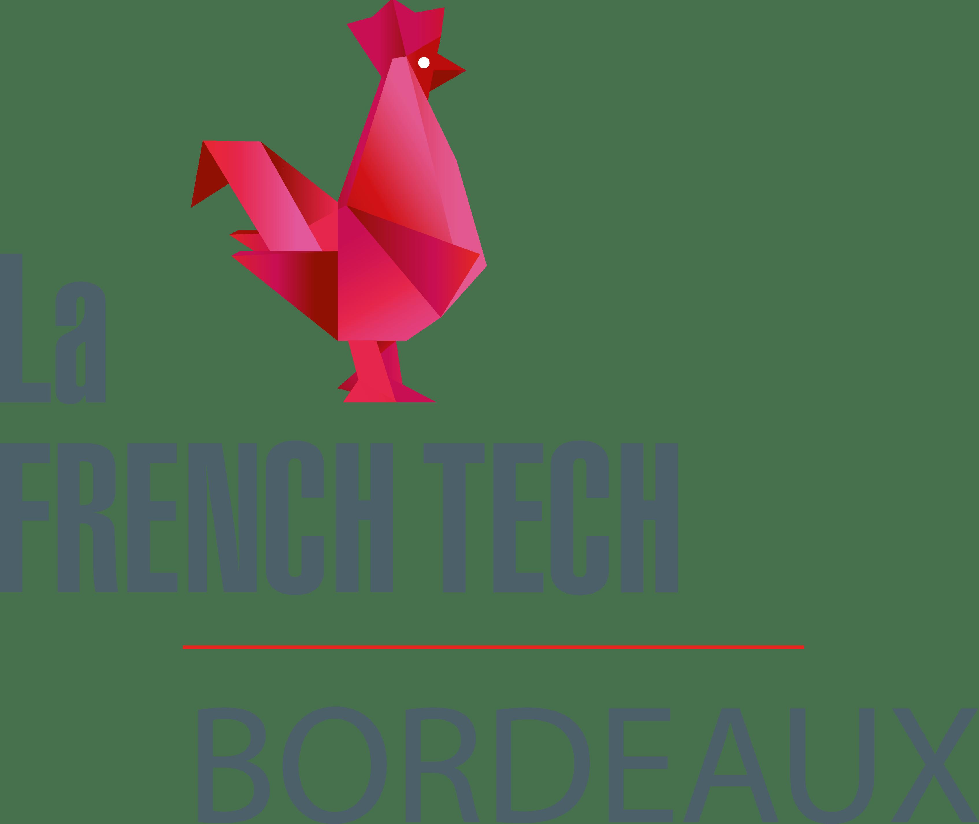 Logo french tech Bordeaux