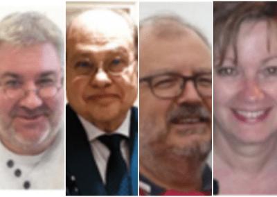 E Parmigiani, J Paucker, J Arjeau & M Thepenier